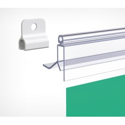 Пластиковый защёлкивающийся клик-профиль GRIPPER-254152