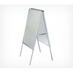 Штендер с рамами из алюминиевого клик-профиля A-STAND-131021