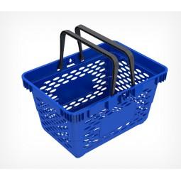 Пластиковая корзинка с двумя ручками CLASSIC-410045