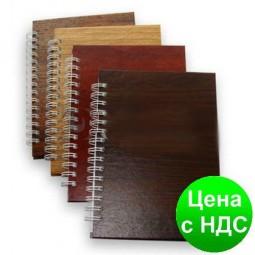 Записная книга на пружине, А5, 96 листов, клетка ЗА5.96-195