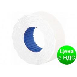 Этикетки-ценники фигурные 22х12 мм Economix, 1000 шт/рул., белые E21303-14