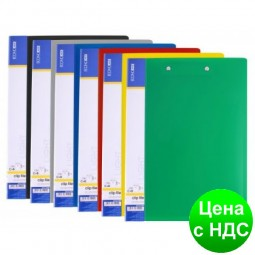 Папка А4 с 30 файлами Economix, ассорти E30603