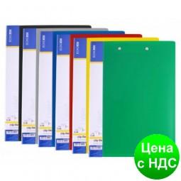 Папка А4 с 80 файлами Economix, ассорти  E30608