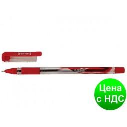 Ручка масляная FORMAT JAGUAR 0,7 мм, пишет синим F17149-02
