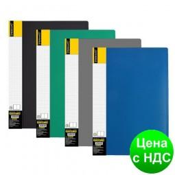 Папка А4 с 10 файлами Format, ассорти F37601