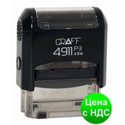 "Штамп стандартный GRAFF 4911 ""ОТКАЗАНО"", рос., 38х14 мм GRF4911-27"