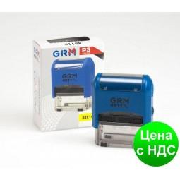 Оснастка автомат., GRAFF 4915 P3, пластиковый, для штампа 70х25 мм, синяя GRF4915P3-02