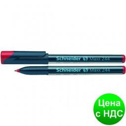 Маркер для CD и DVD SCHNEIDER MAXX 244 0,7 мм, красный S124402