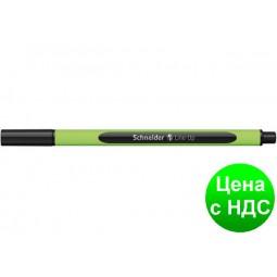 Лайнер SCHNEIDER Line-Up 04 мм,черный S191001