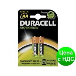 """Аккумулятор AA """"Duracell"""" 1300 mAh (по 2шт.) s.39186"""