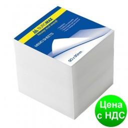 Блок белой бумаги для заметок 90х90х50мм.,не скл. BM.2215
