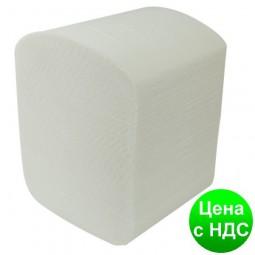 Бумага туал. листовая целюлоз., 2-х слойная, 150шт. белый 10100012