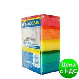 Губки кухонные 5шт BuroClean EuroStandart 10200211