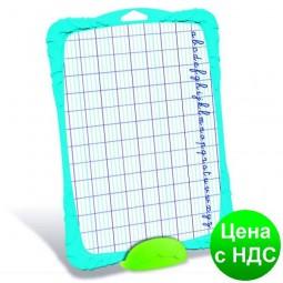 Доска для рисования Shatterproof с комплектом, двухсторонняя, блистер MP.583510