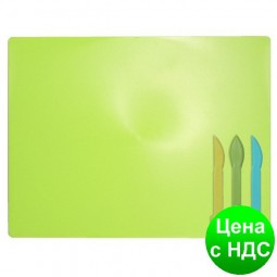 Дощечка для пластилина, 3 стека, салатовый ZB.6910-15