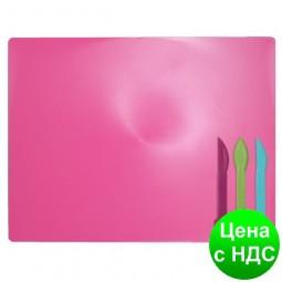 Дощечка для пластилина, 3 стека, розовий ZB.6910-10