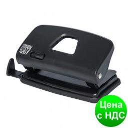 Дырокол пластиковый (до 10листов), черный BM.4007-01
