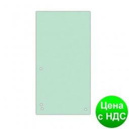 Индекс-разделитель 10, 5х23см (100шт.), картон, зеленый 8620100-06PL