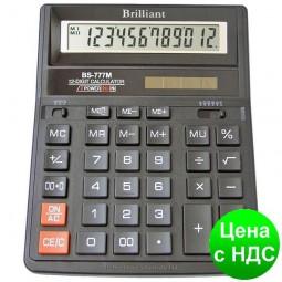 Калькулятор BS-777М 12 разрядов, 2-пит BS-777M
