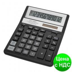 Калькулятор SDC-888 ХBK, черный 12 разрядов SDC-888 XBK