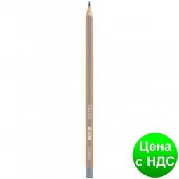 Карандаш графитный BLACK PEPS H, без резинки, коробка с подвесом MP.850025