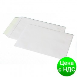 Конверт С4 (229х324мм) белый СКЛ с внутр. печатью 4041