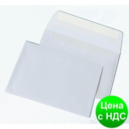 Конверт С6 (114х162мм) белый СКЛ 85-1386