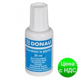 Корректирующая жидкость DONAU 20мл 7615001