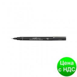 Лайнер uni PiN 0.8мм fine line, черный PIN08-200.Black