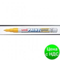 Маркер uni PAINT 0.8-1.2мм, желтый PX-21.Yellow
