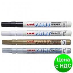 Маркер uni PAINT 0.8-1.2мм, черный PX-21.Black