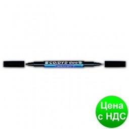 Маркер водостойкий CD-DVD DUO 830, черный gr.M830.Black