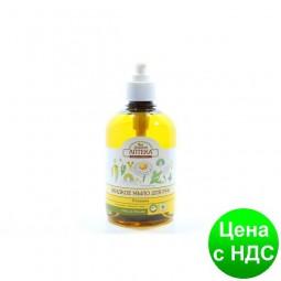 Мыло жидкое зеленаяАПТЕКА 460 мл Ромашка и льон e.05858