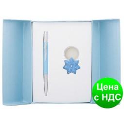 """Набор подарочный """"Miracle"""": ручка шариковая + брелок, синий LS.122026-02"""