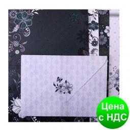 """Основа для листовок с цветными конвертами """"Fancy"""" 10.5*14.8см ZB.18224-AD"""