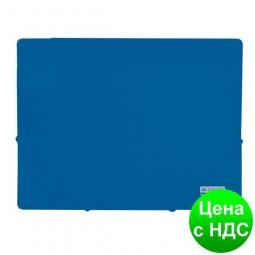 Папка пласт. А4 на резинках, JOBMAX, синий BM.3911-02
