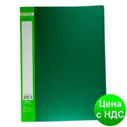 Папка с 30 файлами А4 JOBMAX, зеленый BM.3611-04