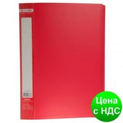 Папка с 30 файлами А4 JOBMAX, красный BM.3611-05