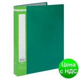 Папка с 40 файлами А4 JOBMAX, зеленый BM.3616-04