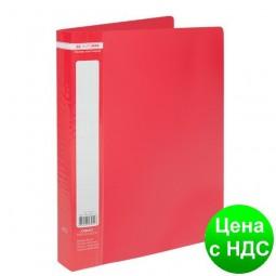 Папка с 40 файлами А4 JOBMAX, красный BM.3616-05