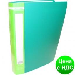 Папка с 60 файлами А4 JOBMAX, зеленый BM.3621-04