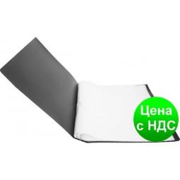 Папка с 60 файлами А4 JOBMAX, черный BM.3621-01