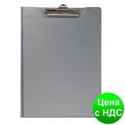 Планшет-папка А4, PVC, серый BM.3415-09