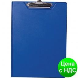 Планшет-папка А4, PVC, т.-синий BM.3415-03