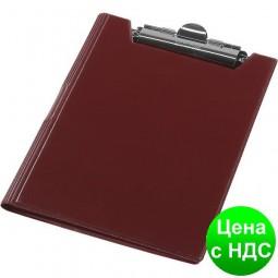 Планшет-папка А4, винил, бордовый 0314-0002-10