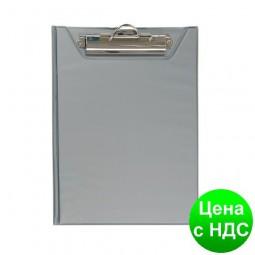 Планшет-папка А5, PVC, серый BM.3417-09