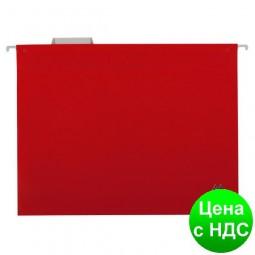 Подвесной файл А4, пластиковый, красный BM.3360-05