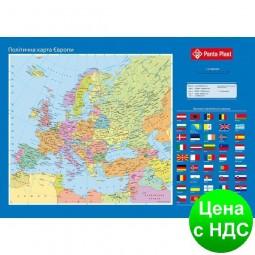 """Подкладка для письма """"Карта Європи"""", 590x415мм 0318-0037-99"""