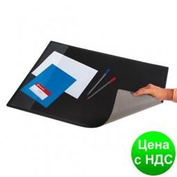 Подкладка для письма (652x512мм, PVC), черная 0318-0013-01