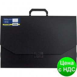 Портфель пластиковый A3/32мм, PROFESSIONAL, черный BM.3725-01